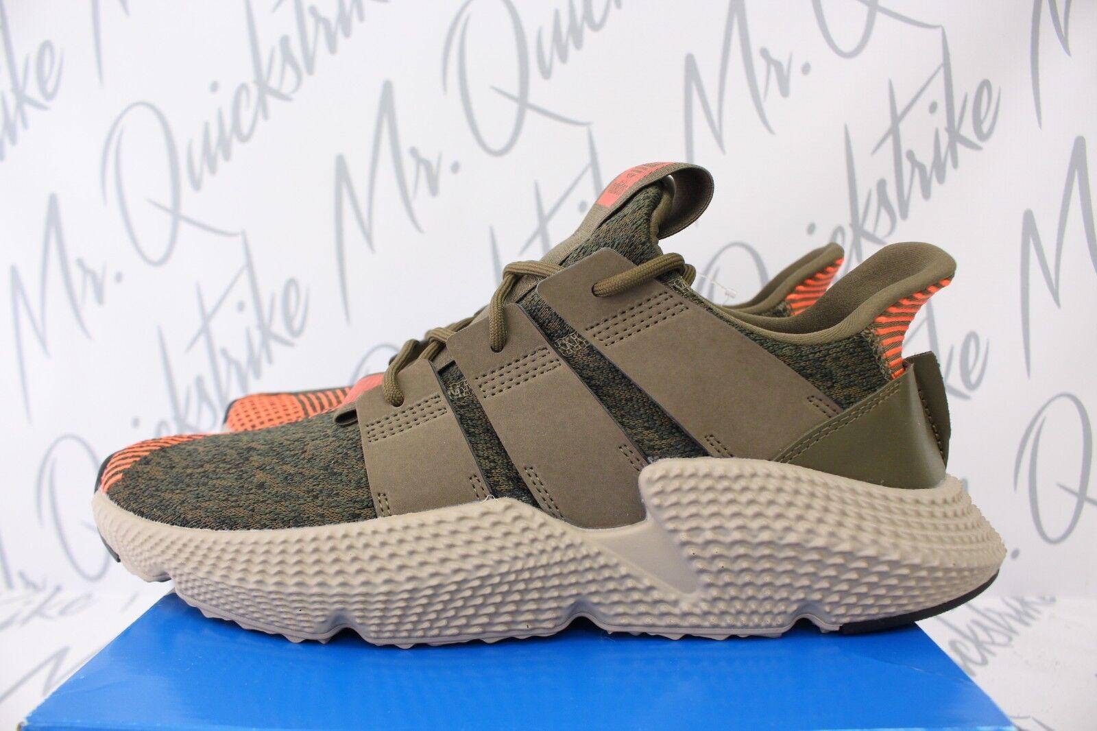 Adidas originali prophere sz 10 tracce solare verde oliva solare tracce cq2127 rosso e043aa