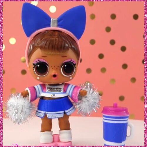 LOL Surprise Series 4 Eye Spy Under Wraps Wave 2 SIS CHEER Cheerleader~Sealed!
