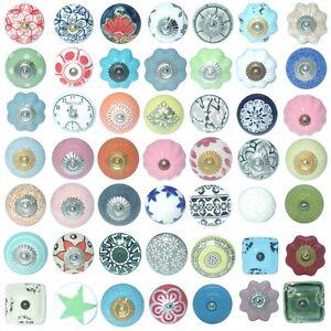 vintage shabby chic verschiedene farben keramik schrank t rkn ufe ebay. Black Bedroom Furniture Sets. Home Design Ideas