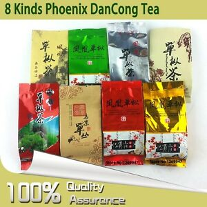 8-Different-Flavors-2019-Phoenix-Dancong-Tea-Chaozhou-Oolong-Tea-8g-8pcs