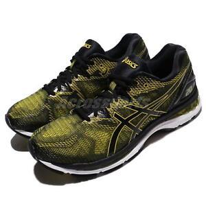 Asics-Gel-Nimbus-20-Yellow-Black-Men-Road-Running-Shoes-Sneakers-T800N-8990