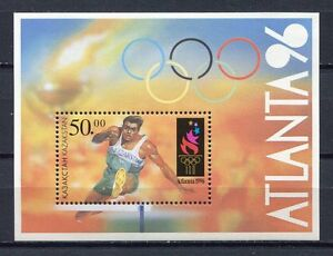 S813) Kazakhstan 1996 MNH Modern Olympics S/S