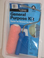 Whizz Roller System General Purpose Kit Roller 1/2 Polyester Cover 6 Tray Nip