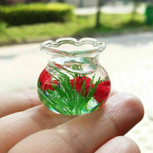 1x-Mini-Modell-von-The-Goldfish-Toys-fuer-Miniatur-Puppenhaus-Zubehoer-I1G4