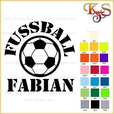 ♡♥ Bügelbild * Bügelbilder * Hotfix *Fußball Fussball Name  Flex Folie 20 Fb ♡♥
