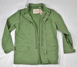 Details About Levis Military Style Field Jacket M65 Army Mens 100 Authentic Sizes S M L
