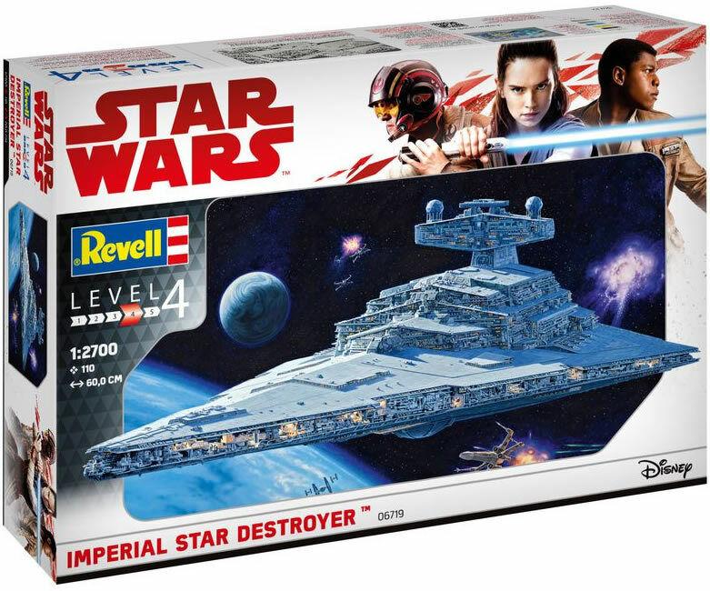Revell 1 2700 Imperial Star Destroyer Model Gift Set
