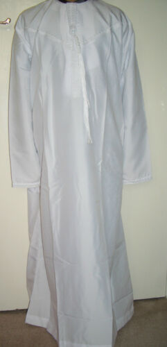 30 to 50 Boys//Children's Emirati//Arab//Islamic Kaftan//Jubbah Top Kurti in White