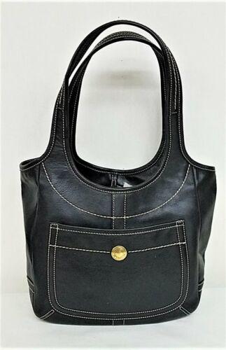 Coach Black Ergo Handbag