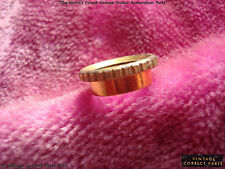 Vintage 1959 Gibson Les Paul Custom Heavy Knurled Switchcraft Switch Nut GOLD !