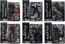 McFarlane Toys Matrix Series 2  6 Action Figure Set 2003 Neo Trinity Morpheus