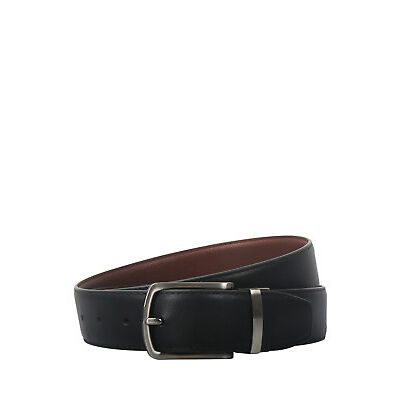 NEW Trent Nathan Reversible Belt Black