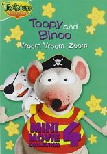 Toopy and Binoo - Vroom Vroom Zoom Mini Movie Collection 4 (DVD) NEW