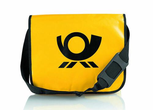 Deutsche Post Posthorn Umhängetasche Laptop DHL Tasche robust Messenger Bag