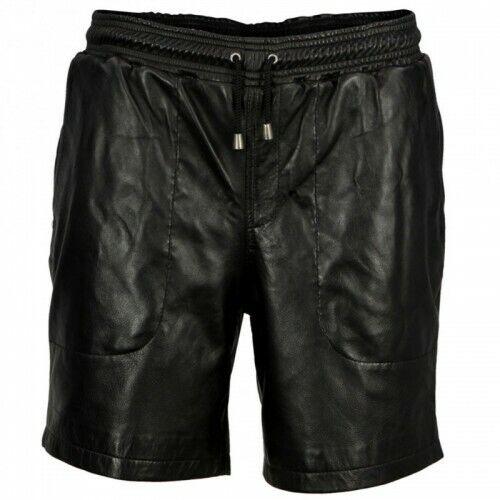 in con Pantaloncini da maschili boxer lunghi pelle coulisse con uomo SwFdpq81w