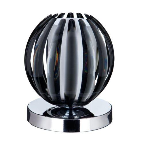 Tischleuchte Touch Schwarz Weiss Berühren inkl Leuchtmittel Tischlampe Lampe