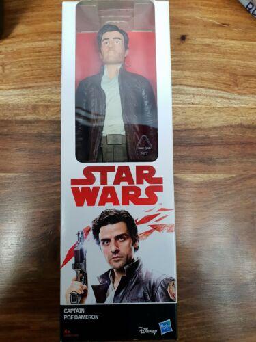 "Star Wars Capitaine PoE Dameron Action figure 12/"" Entièrement neuf dans sa boîte Hasbro Disney"