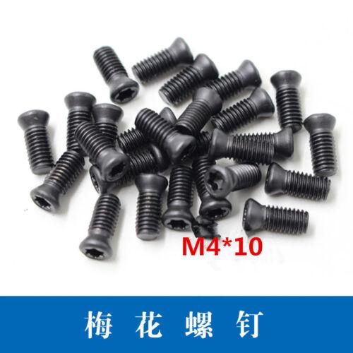 M4*10mm High-strength screws for CNC tool holders Flat Head Countersunk ScrewX20