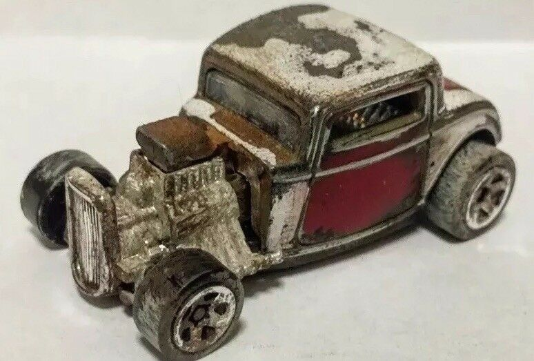 Hotwheels 2017 - 1932 FORD  wasteland style concept by THEDISTRESSMASTER