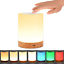 Table Lamp UNIFUN Touch Sensor Bedside Lamps Dimmable Warm White Light /& Color