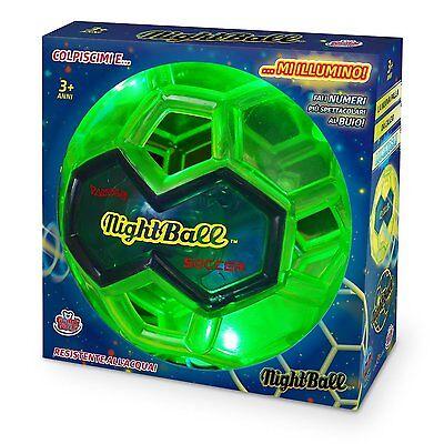 Night Ball-palla Notturna Da Calcio Fluorescente!!! Verde Acido-di Grandi Giochi