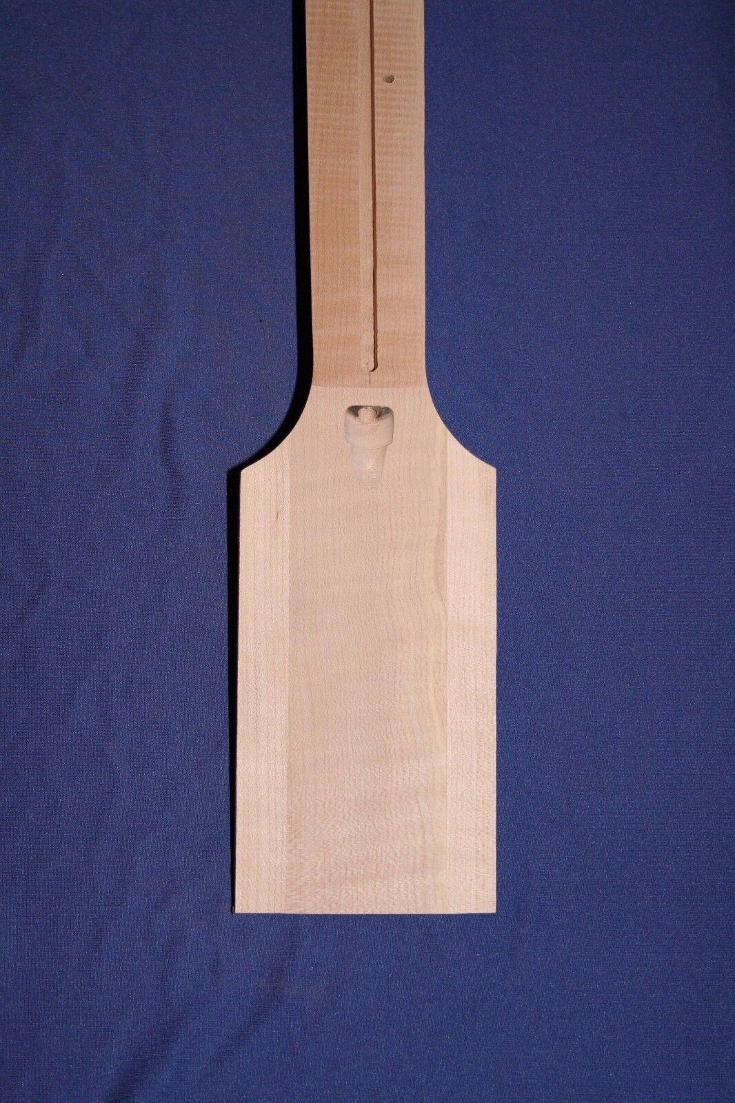 Neck Blank Thin Hollowbody Model 300 12deg. hdsk 4deg.nk.jt  Medium Flamed Maple