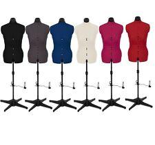 Adjustable Female Tailor Dummy Dummies Dressmaker Mannequin Bust Display Stand
