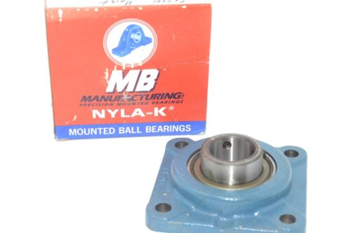NEW MB Nyla-K FC4251-12 1-1//2/'/' BALL BEARING FLANGE BLOCK 4-BOLT 1-1//2IN-BORE