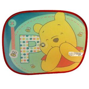 2 x Disney Auto Sonnenschutz Winnie Pooh Kinder Baby Fenster Sonnenblende