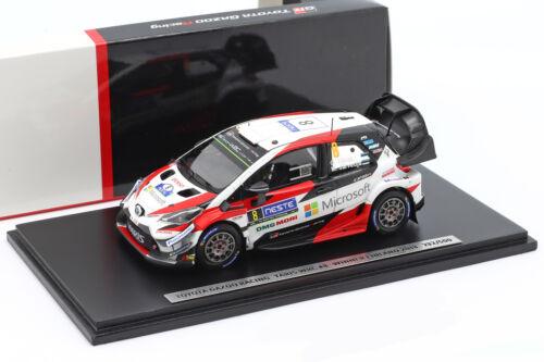 järveoja 1:43 Spark Toyota Yaris WRC #8 ganador rally Finlandia 2018 tänak