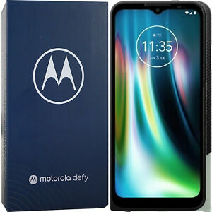 BNIB Motorola Defy (2021) Dual-SIM 64GB + 4GB Green Unlocked 4G/LTE GSM