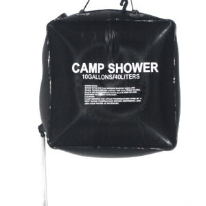 40L-10-GALLON-CAMPING-SOLAR-HEATED-CAMP-SHOWER-BAG-OUTDOOR-SHOWER-WATER-O5E0