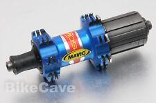 Mavic Cosmos Rear Hub 28 Hole Straight Pull Blue Shimano/Sram Freehub