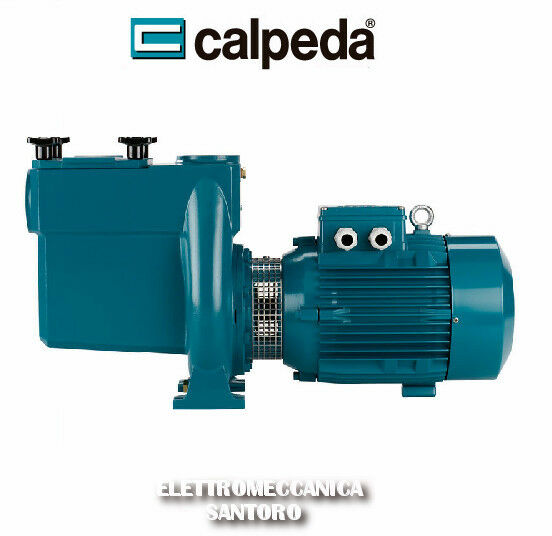 ELETTROPOMPA PER PISCINA NMP 32/12S/A CALPEDA HP 2 VOLT 380 PROFESSIONALE GHISA