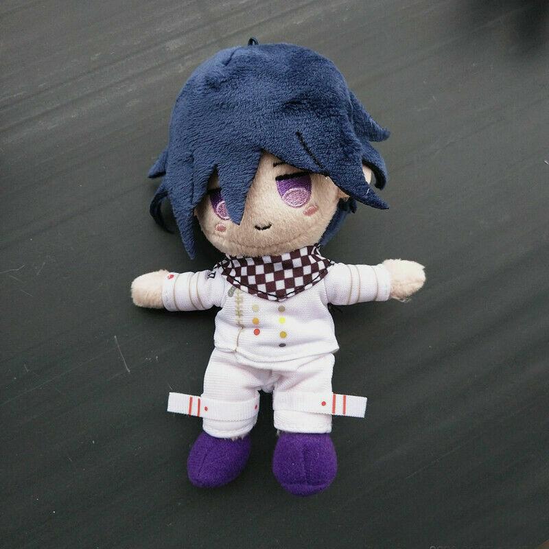 NEW Anime Danganronpa V3 Dangan Ronpa Saihara Shuichi Plush toy doll key chains