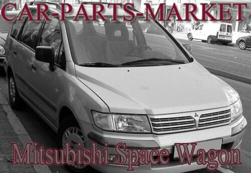 Gauche Côté Passager Aile Miroir De Verre Pour Mitsubishi Space Wagon 1998-04