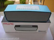 CASSA SPEAKER PORTATILE BLUETOOTH STEREO + VIVAVOCE ricaricabile iphone  pc ipod