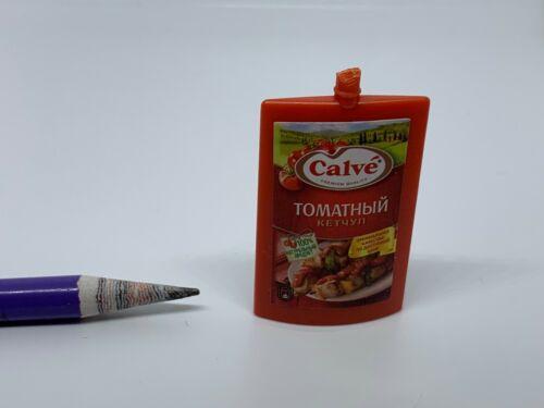 S012 Dollhouse Miniature Calve Tomato Paste Ketchup Seasoning migros supermarket