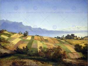 PAINTING-LANDSCAPE-CALAME-SWISS-SWITZERLAND-ART-PRINT-POSTER-LAH060