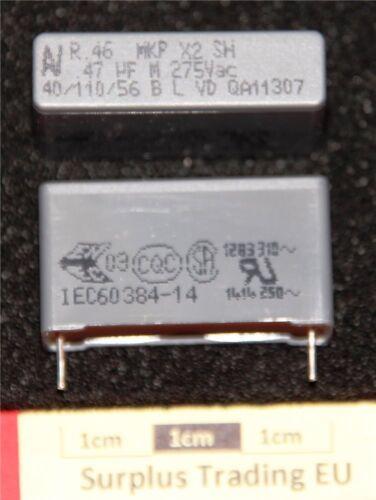 pacco da 2 Condensatore a Film Arcotronics MKP x2 470nf 275vac