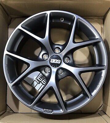 17 x 7.5 inches /5 x 108 mm, 45 mm Offset BBS SR Satin Grey Wheel ...