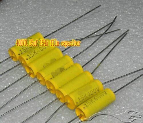 400V0.15uf 154k Metallized polyester Film capacitor HiFi Capacitors
