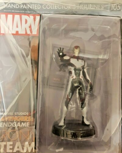 MARVEL = MOVIE COLLECTION FIGURINE # 105 = IRON MAN TEAM SUIT