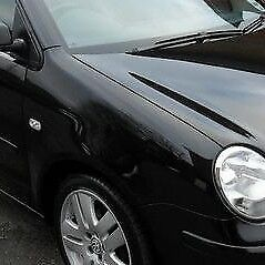 VW Polo 9N 2002-2005 New Driver side front wing black painted L041