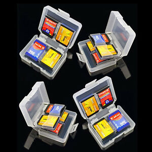 8 in 1 SDHC SD Memory Card Case Holder - Hard tective Box for-16gb/32gb/64gb new