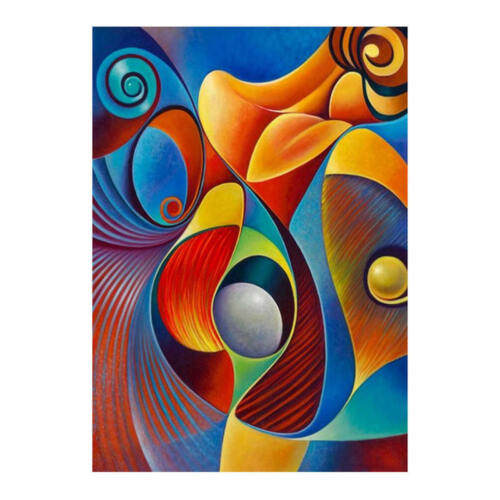 Abstract Picture DIY Diamond Painting Full Drill Embroidery Kit Arts Decoration