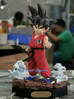 Dragon Ball Z Son Goku Child Statue Painted Model Resin Sculpture Anime In Stock