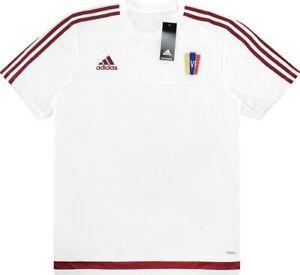 Details about Venezuela Adidas 2015-17 Training Jersey Vinotinto Rincón Rondón Soccer Football