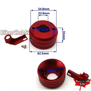Red Air Filter Adapter For 6.5 HP Honda Clone GX160 GX200 Engine Go Kart Motor