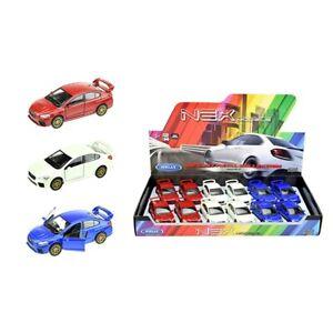 Coche-modelo-subaru-WRX-STI-auto-deportivo-aleatoria-color-auto-1-34-39-con-licencia-oficial